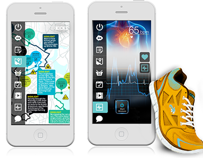 Mobile app design- Sport Industry