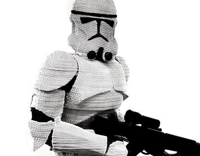 "Stormtrooper ""Laser cutting"""