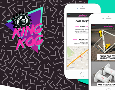 UX & UI Case Study: King Kog Bicycles