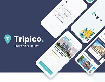 UI/UX case study - Tripico