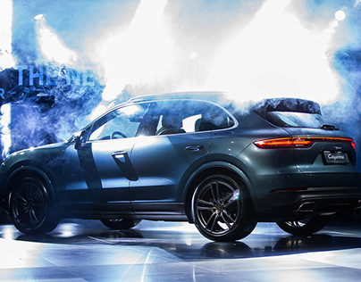 2018 PORSCHE Cayenne Middle East // Reveal