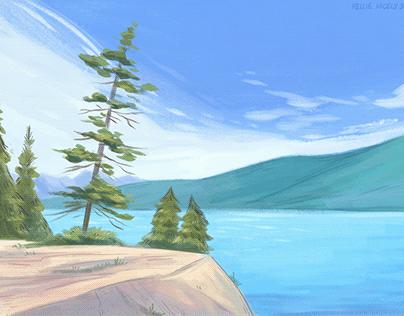 Glacier National Park - Plein Air