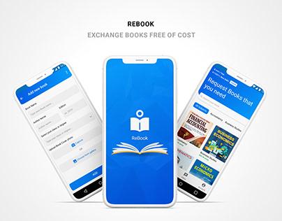 Rebook App Design   UX UI