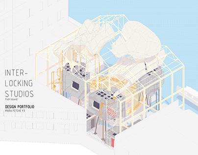 Interlocking Studios, Fish Island/ Design Portfolio/ Y3
