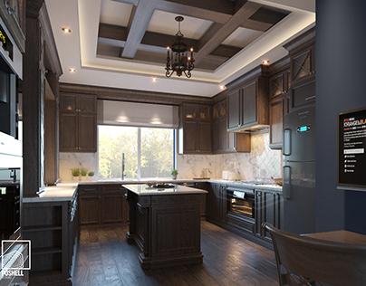 Traditional Kitchen- Les Rois