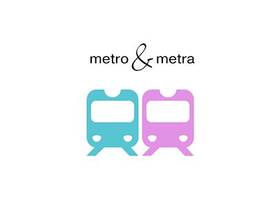 Metro & Metra Trance Music, Cover Design