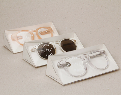Over The Nose — Eyewear Packaging Design