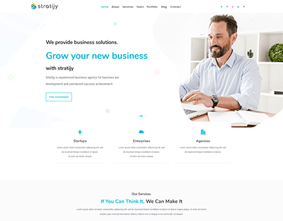 Landing Page Design Software Development Company