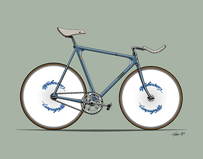 Hand-drawn Bicycle Illustrations