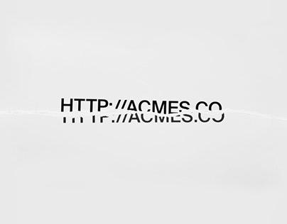 Acmes's Web