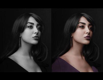 Photo edit : Black& white to color - Vol I