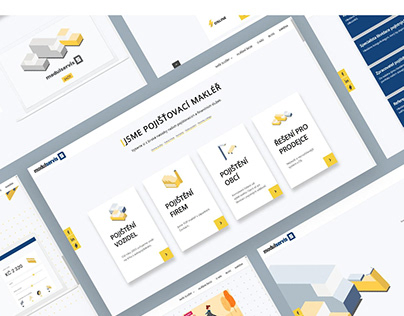 Visual style & web design for Modul Servis