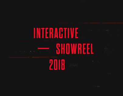 Interactive Showreel 2018