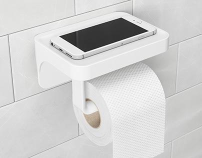 SURE LOCK toilet paper Holder | UMBRA