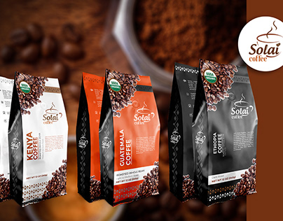 Solai Coffee labels