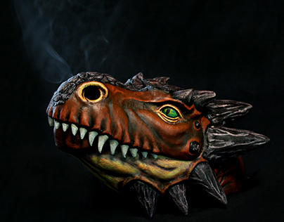 Dragon Head - Incense stick burner
