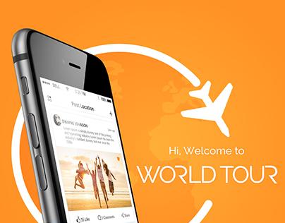 WorldTour Mobile app