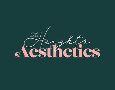 The Heights Aesthetics Rebrand