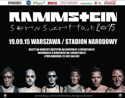 Opracowanie graficzne dla zespołu Rammstein