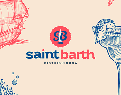 Saint Barth Distribuidora - Branding