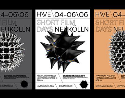 Hive Short Film Days Visual Identity