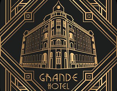 Graphic Design: Art Deco-Style Souvenir