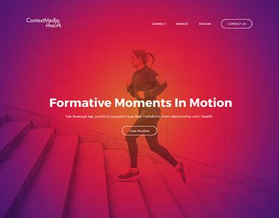 ContextMedia - Site Design