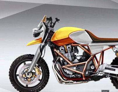 Scrambler Honda CB