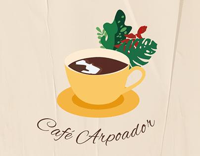 Café Arpoador - Identidade visual