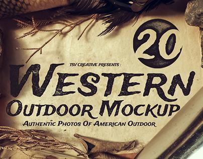 Western Outdoor Mockup