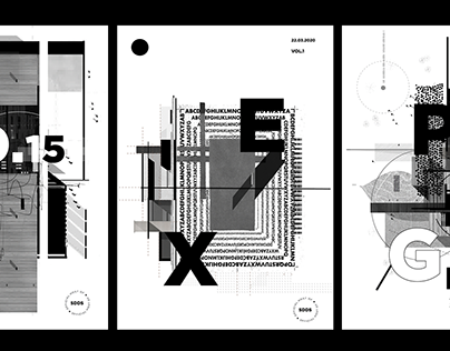 "THE APOCALPYSE OF ART // "" REIMAGINED TYPOGRAPHY"""