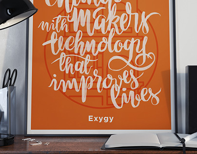 Exygy – Core Values posters (concept)