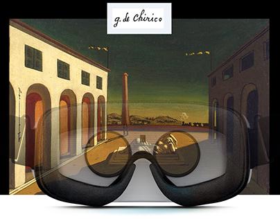 VR-TOUR in G. De Chirico MIND and G.Morandi STUDIO's