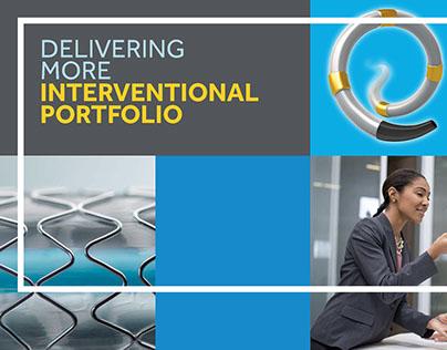 Medical devices sales portfolio