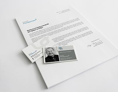 Visual Identity, Dansk Firmapension