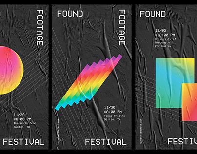 Found Footage Festival Rebrand
