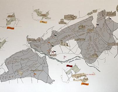 Mappa Docg la Tordera