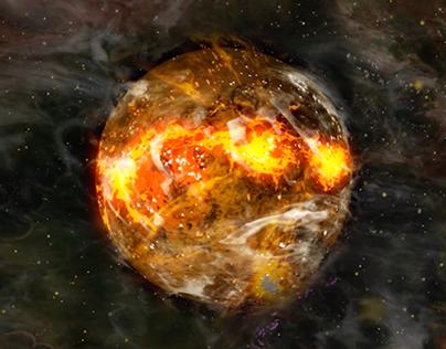 Treasure Nebula Title Sequence