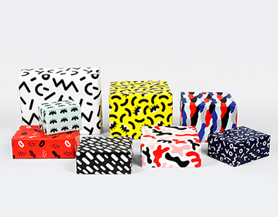 Wrapping paper for Depst