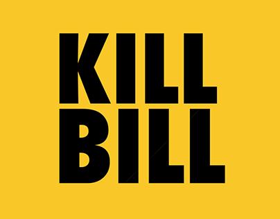 Créditos Kill Bill