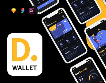Deeper Wallet - Dark Kit