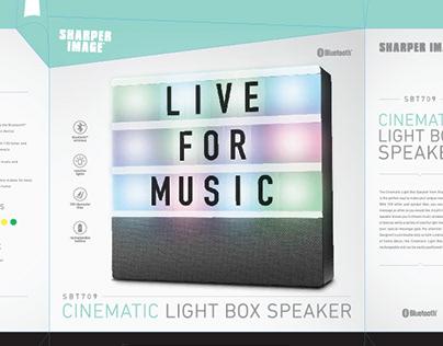 Sharper Image Packaging