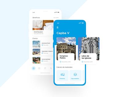 CAPBAV | App design