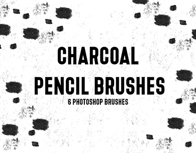 FREE CHARCOAL PENCIL PHOTOSHOP BRUSHES