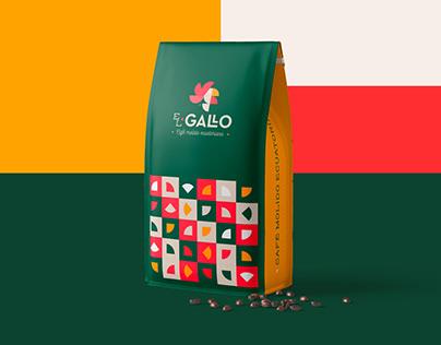 EL GALLO COFFEE - Branding, Packaging