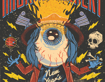 ANIMATED GIGPOSTERS 2016