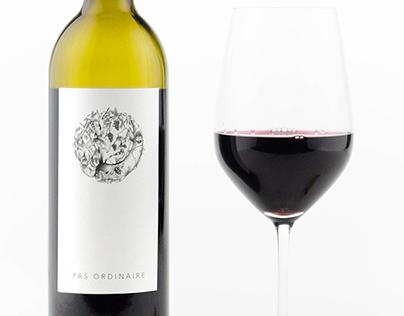 Club W Wine Label
