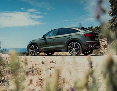 Audi SQ5 Sportback in Corsica