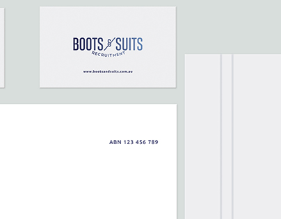 Boots & Suits Recruitment - Branding