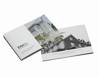 Estatia Real Estate A5 Brochure